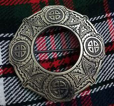 New Scottish Kilt Fly Plaid Brooch Antique Finish Celtic Knot Fly Plaid Brooches