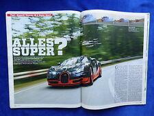 Bugatti Veyron 16.4 Super Sport 1200 PS - Test - Auto Motor Sport Heft 22/2011