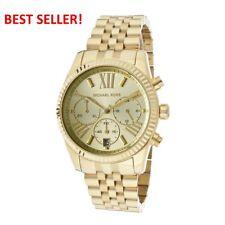 Michael Kors MK5556 Lexington Chronograph Champagne Dial Gold Tone Wrist Watch