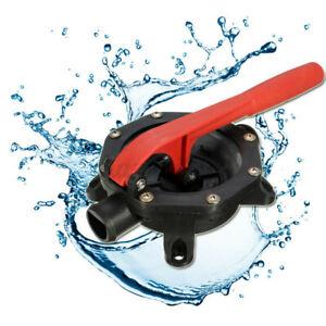 720GPH Boat Marine Manual Diaphragm Bilge Water Pump Handle Maintenance Plastic