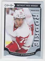15/16 OPC...ANDREAS ATHANASIOU...MARQUEE ROOKIE...CARD # U37...RED WINGS