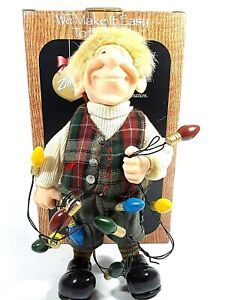 """ZIM's The Elves Themselves Albert Collectible Christmas Elf Figure 10"""" Tall"""
