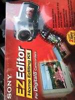 Ez Editor Home Editing Kit For Digital 8 Camcorders/ New