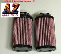Yamaha Banshee YFZ 350 K&N Style Air Pod Filters Filter Pair Stock Carbs 26mm KN