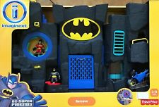 NIB Fisher-Price Imaginext Batman DC Super Friends Batcave - Black