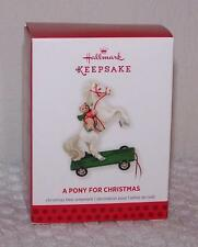 2013 Hallmark Ornament - Limited Edition Repaint - A Pony for Christmas