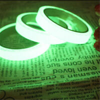 Glow In The Dark Luminous Fluorescent Night Self adhesive Safety Sticker Tape BS