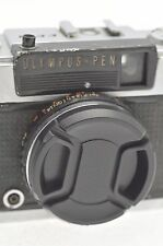 Olympus pen EE2 capuchon d'objectif avec cordon & flash shoe cover-neuf-uk rapide post