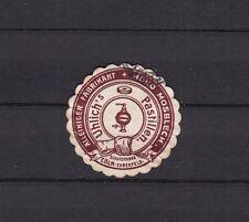 404685/ Siegelmarke - Uhlrich´s Pastillen - Hugo Mosblech - CÖLN-EHRENFELD