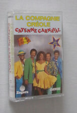 La Compagnie Créole Cayenne Carnaval 76 723 Carrere K7 audio musicassette tape ♫