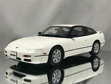 Otm718 Otto Mobile 1 18 Nissan 180 SX White Pearl Model Cars