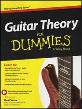 Guitar Theory for Dummies TAB Music Book with Audio/Video
