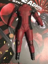 Hot Toys Dead Pool 2 MMS490 Body & Red Suit loose 1/6th scale