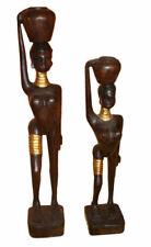 Statuette decorative figurine in legno per la casa