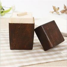 Wooden Tea Caddy Canister Home Tea Boxes Kung Fu Tea Storage Jar