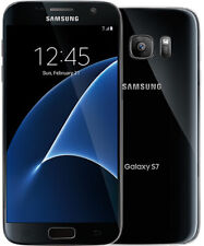 Samsung Galaxy S7 SM-G930V 32GB 4G LTE Black Onyx Verizon Unlocked - LCD Shade