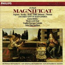 BACH Magnificat John Eliot Gardiner Emma Kirkby ARGENTA KWELLA ROLFE-JOHNSON
