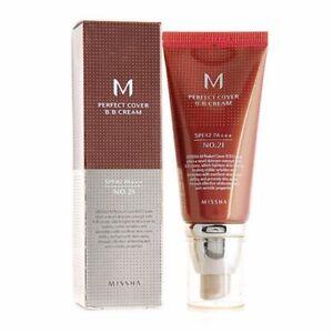 Missha M Perfect Cover BB Cream SPF42 PA+++ 50 mL [2 shades: #21 and #23] Korean
