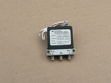 Teledyne Microwave Coaxial Failsafe Latching Relay CS-33S1S-1, 24-30 VDC, SMA,RF