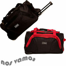 Soft 40-60L Travel Holdalls Bags with Telescopic Handle