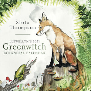 2021 GREENWITCH BOTANICAL CALENDAR Siolo Thompson Fantasy Calendar green witch