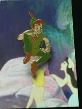 Disney Good vs. Evil - Pin Card Collection Peter Pan & Tinker Bell Authentic