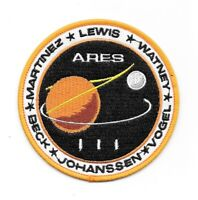 The Martian Movie Ares III Mission Crew Logo Embroidered Patch -new
