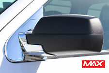 MBCH106 - 2015-2017 Chevrolet Silverado 2500 Chrome Mirror Post Covers
