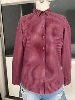 Joules Ladies Fitted Shirt - Checked Blouse Size 10 Tom Joule Lifestyle