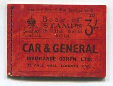 "New listing G.B. ( Edward Viii ) - November 1936 "" 3/= Booklet No. 332 ( 2 stamps missing )"