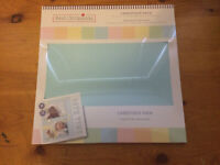 """Best Occasions 5 Pastel Colors 20 Sheet Cardstock Embellishment Pack 12"""" NEW"""