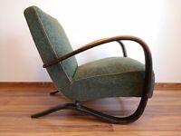 Halabala´s armchair H269, art deco style, first half 20th century.
