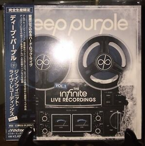 DEEP PURPLE- Infinite Live Recordings Japan MINI LP 2 CD w/OBI VICP-65502~3 RARE