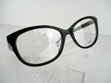 NEW Max Mara MM 1206 (0807) Black 53 x 16 140 mm Eyeglasses Frames
