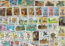 500 All Different RWANDA Stamps - ALL LARGE SIZED