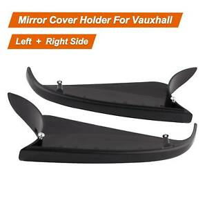 Right + Left Side Pair Lower Wing Mirror Cover for Vauxhall Astra H MK5 04-13