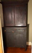 Kentucky Cherry Blind Door Jackson Press, cupboard, Circa 1830