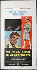 CINEMA-locandina LA MIA SPIA DI MEZZANOTTE doris day,rod taylor F. TASHLIN