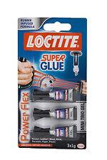 Loctite Super Glue Powerflex Mini Trio 3 x 1g
