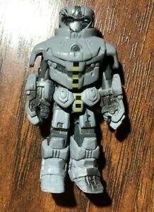 Iron Man 2 Movie Single Minimate Battle Damaged Hammer Drone