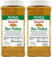 10lb SPANISH BEE POLLEN 100% Natural Pure Raw Granules Organically Produced