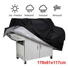 Waterproof BBQ Barbecue UV Protector Large Cover Rain Dust Cover 170x61x117cm