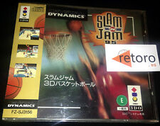 SLAM AND N JAM 95 BASKETBALL Panasonic 3DO Japones Muy Buen Estado Spine Card
