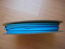 Schrumpfschlauch - 6,4 / 3,2 mm 75 Meter - blau
