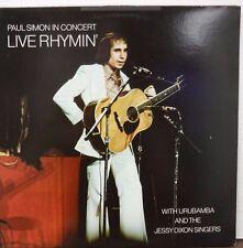 Paul SImon in Concert Live Rhymin' 33RPM AL32855 112516LLE #2