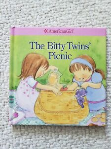 American Girl The Bitty Twins' Picnic (2007, Hardcover) BRAND NEW