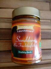 Storchennest Bio Fruchtaufstrich Sanddorn 200g
