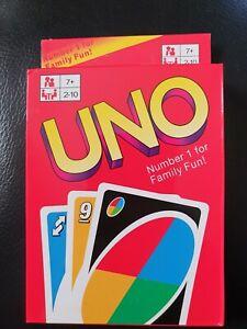 NAGELNEU !!!!  UNO Kartenspiel.. Günstig KOSTENLOSER Versand !!!!