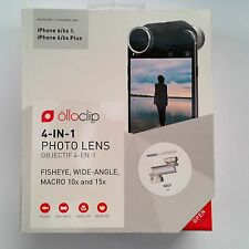 olloclip 4-in-1 Photo Lens iPhone 6 6s 6 Plus 6s Plus Gold White Macro 10-15 NIB