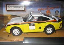 SCALEAUTO SC-6090b Porsche 959 Raid Challenge jaune  1/32 New